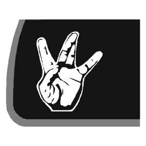 West Side Hand Sign Car Decal / Sticker Automotive