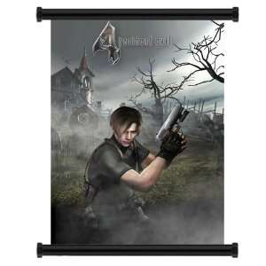 Resident Evil 4 Game Fabric Wall Scroll Poster (16 x 22