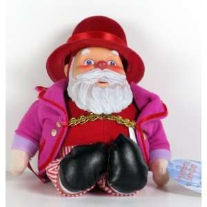 Santa Claus plush figure from Rankin Bass The Year Without