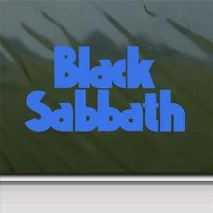 Black Sabbath Blue Decal Ozzy Metal Band Window Blue