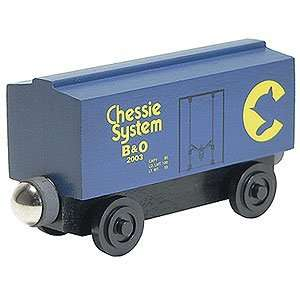 Railroad   Chessie System Blue Box Car   100215   Boxcar Toys & Games