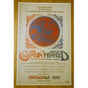 Eric Clapton And Steve Winwood Live From Madison Square Garden 11 by