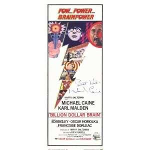 Billion Dollar Brain   Movie Poster   11 x 17: Home