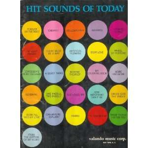 Hit Sounds of Today: Valando Music Corp.:  Books