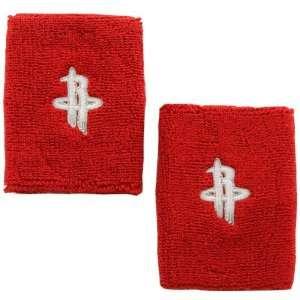 NBA adidas Houston Rockets Red Team Logo Wrist Sweatband