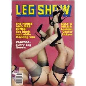 LEG SHOW MAY 1984 (5/1984): LEG SHOW MAGAZINE: Books