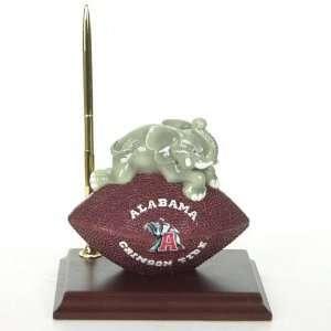 Alabama Crimson Tide Mascot Football Desk Set Sports