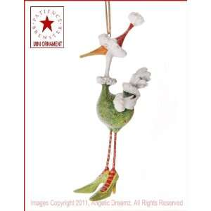 2011 Patience Brewster Krinkles, Angela The Goose MINI ORNAMENT