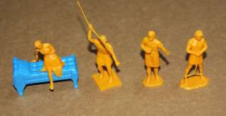MARX BEN HUR PLAYSET Vintage Lot 45 GLADIATORS Greek Roman REMCO Toy