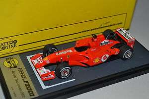 43 BBR QR32 Michael Schumacher Ferrari F2001 Test 2002 Vodafone