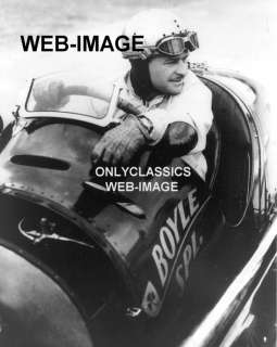 1939 WILBUR SHAW MASERATI BOYLE SPECIAL PHOTO  INDY 500