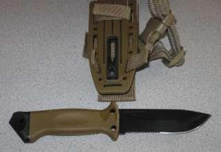 new gerber lmf ii infantry 22 01463 brown survival knife sheath