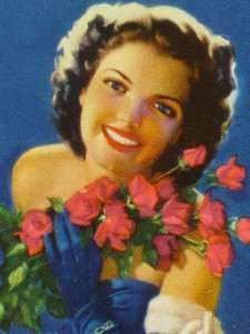 ZOE MOZERT GLAMOUR GIRL PINUP ART ORCHIDS & ROSES PLAYING CARDS