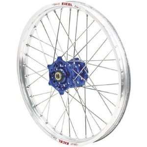 QTM/Brembo Offroad/ATV Complete Front Wheel Assembly   Dark Blue