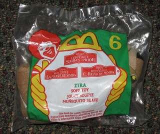 1998 Lion King Simbas Pride Plush McDonalds Zira #6