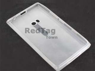 Hard Glossy TPU GEL Cover Skin Case For Nokia Lumia 900 Phone