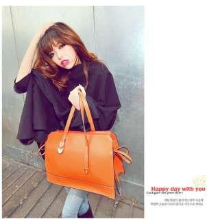 Faux Leather Satchel Shoulder Bag Messenger Hobo Handbags 0527