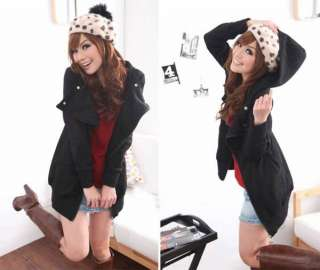 New Korean Women Zippered Hoodie Sweater Jacket 0864