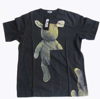 BLACK COMME des GARCONS Black short sleeve T shirt/XL