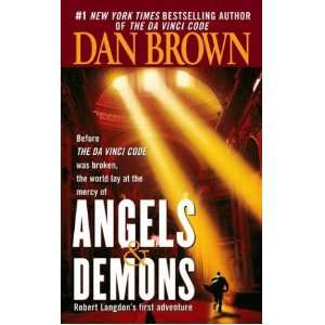 Angels & Demons Dan Brown Books