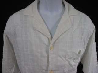ZEGNA Womens White Cotton Button Shirt Top. This great shirt