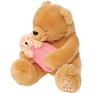 Teddy Bear w/ Baby Girl Plush by Wild Republic Toys & Games
