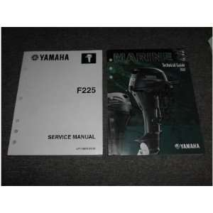 2008 Yamaha Outboards F225 Service Manual Set (Service