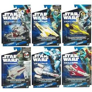 Star Wars Clone Wars Transformers Wave 3 Revision 2 Toys & Games