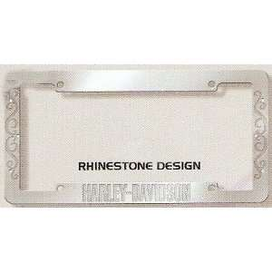 Harley Davidson Metal Auto License Plate Tag Frame