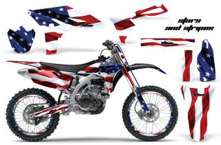 AMR RACING MOTORCROSS GRAPHIC STICKER MX WRAP KIT YAMAHA YZ 250 F YZF