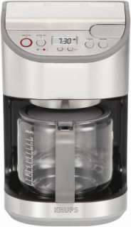 Krups 12 Cup Precision Series Stainless Steel 120V Electric