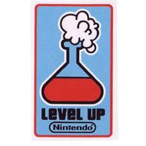 Nintendo Super Mario Level Up Game Patch (Iron On) Toys & Games