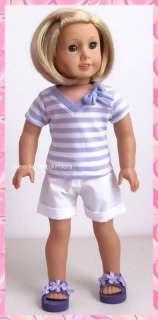 Shirt, Shorts Set 4 American Girl Doll Clothes 131