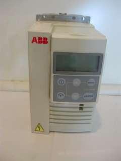 ACS 143 1K1 3 U ABB MICRO DRIVE VARIABLE SPEED DRIVE VFD SPEED