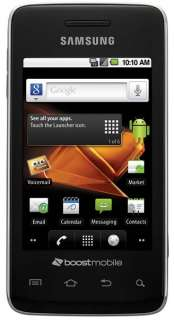 Samsung Galaxy Prevail SPH M820 Boost Mobile Smartphone (Black)   Good