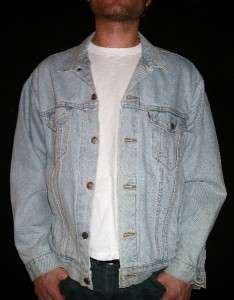 JEAN JACKET retro 80s old coat ipod shirt music emo indie LEVI