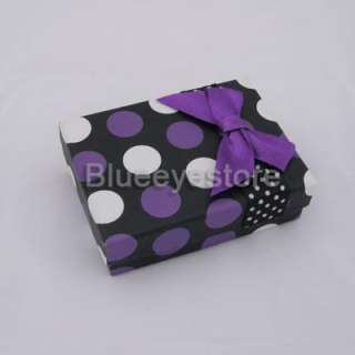 Fantion Purple USB gift box gift Jewelry box case 9CM