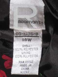Ƹ̵̡Ӝ̵̨̄Ʒ ~ NWOT* ROAMANS WOMEN CUTE FLORAL DRESS SZ 14W ($
