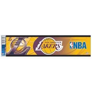 Los Angeles Lakers Bumper Sticker / Decal Strip *SALE