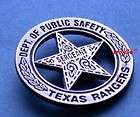 TVS WALKER TEXAS RANGER BADGE PIN C@@L