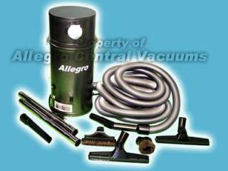 Allegro Central Vacuum Kit   Marine Boat RV Bus Vac