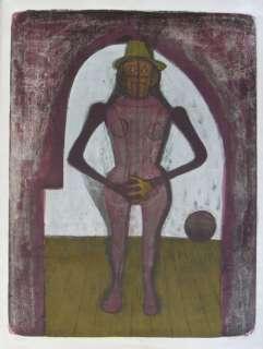 Rufino Tamayo litho Femme au collant/Mujeres Suite