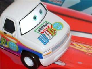 PIXAR CARS 2 CUSTOM DUFF WORLD GRAND PRIX ALLINOL DECAL