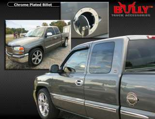 Chrome Locking Gas Door 2000 2006 GMC YUKON DENALI XL
