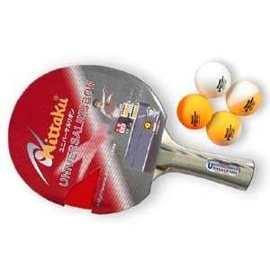 Nittaku Universal 1000 Table Tennis Paddle  Sports