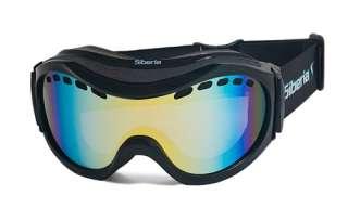 SIBERIA SKI SNOWBOARD GOGGLES ANTI FOG DOUBLE LENS S63