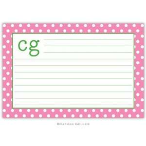 Boatman Geller   Custom Recipe Cards (Polka Dot)