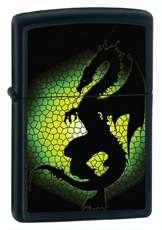 Zippo 28135 dragon black matte Lighter FREE GIFT