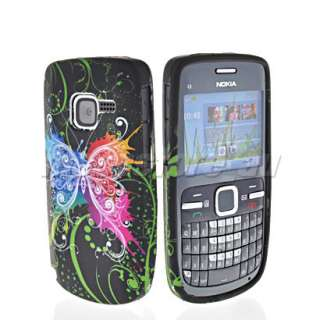 FLOWER SOFT SILICONE GEL TPU CASE COVER + SCREEN PROTECTOR FOR NOKIA