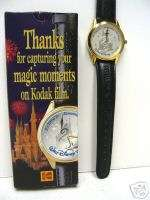 WALT DISNEY WORLD 25 TH ANNIVERSARY WRIST WATCH KODAK